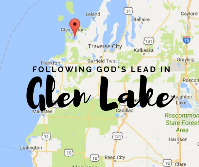 Glen Lake Map (1)