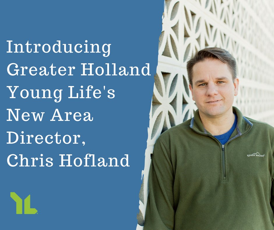 """Greater Holland Young Life's New Area Director Is """"All In"""