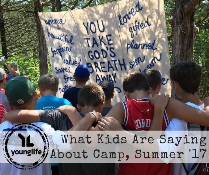 What Kids are Saying about Camp